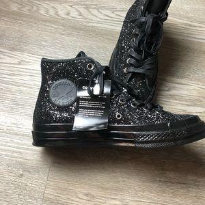 Converse Shoes - Glitter high tops